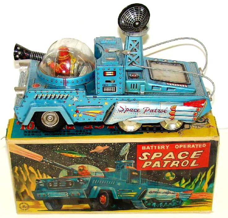 Free Vintage Toy Appraisals ~ Cars ~ Trucks ~ Buses ~ Space Toys