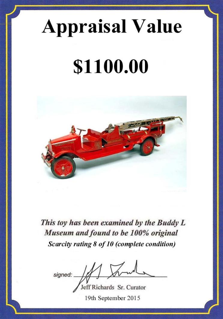 space toys,toy robots,tin toys,buddy l,buddy l toys,buddy l trucks,buddy l dump truck,buddy l fire truck,pressed steel toys,antique toy appraisals,toy appraisals,sturditoy,keystone,steelcraft,kingsbury,antique toys,buddy l cars, buddy l water tower fire truck